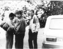 1990 m. vasara antras iš kairės Kęstas Treigys